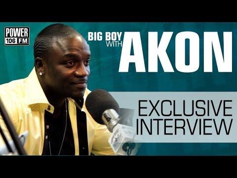 Akon Says No One Has Darker Skin Than Him | Big Boy's Neighborhood