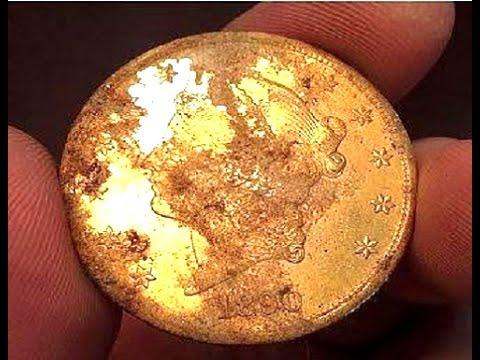 Nyata..Penemuan Koin Emas 10 Juta Dollar (100 milyar lebih)