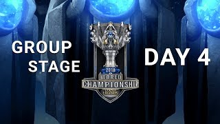 2018 World Championship: Group Stage Day 4