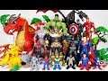 Thanos appeared with Dragons, Go~! Avengers Spider Man, Hulk, Iron Man, Captain America