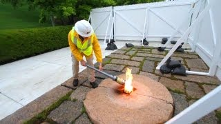 Moving The President John F. Kennedy Eternal Flame | AiirSource