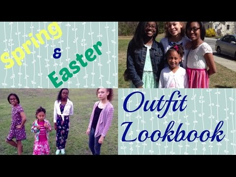 Easter Spring Fashion Lookbook
