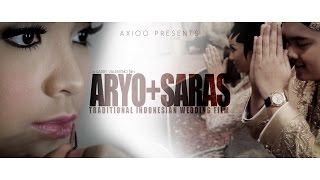 traditional wedding of   aryo saras   axioo by garry valentino