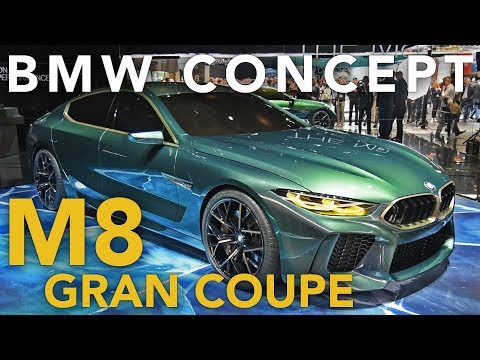 BMW M8 Gran Coupe Concept First Look - 2018 Geneva Motor Show