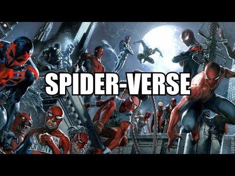 Komiksové bubliny - Spider-Verse