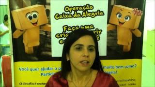 Operação Caixa da Alegria   Pra Roberta Leão   SNT Freguesia