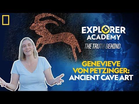 Genevieve Von Petzinger: Ancient Cave Art   Explorer Academy: The Truth Behind
