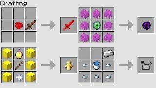 MORE NEW CRAFTiNG RECIPES (Minecraft 1.13 Snapshot)