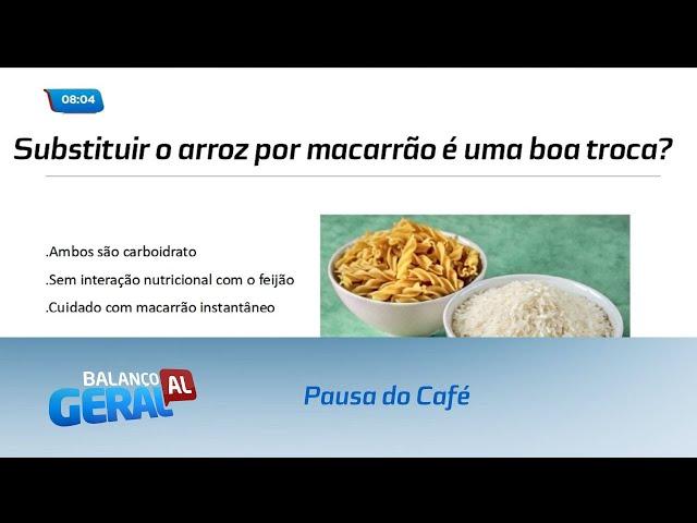 Pausa do Café: Substituições possíveis para o arroz