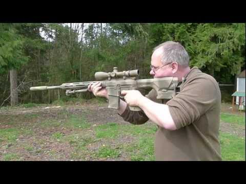 .308 Sniper Rifle with AAC Sound Suppressor