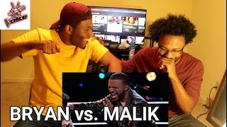"The Voice 2016 Battle - Bryan Bautista vs. Malik Heard: ""It's a Man's, Man's, Man's World"""