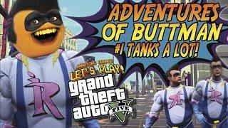 Avonturen van Buttman #1: TANKS VEEL! (Vervelend Oranje GTA V)