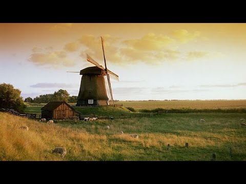Traditional Dutch Music - Dutch Windmills