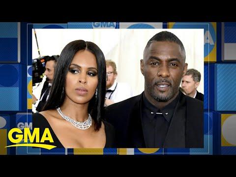 Idris Elba tied the knot with his financee model Sabrina Dow'ra