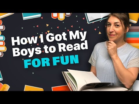 How I Got My Kids To Read For Fun || Mayim Bialik