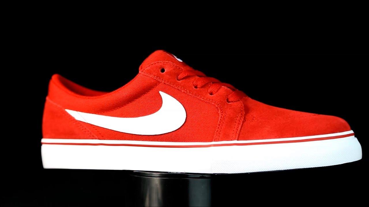 Nike Sb Satire Ii Lona Rojo Youtube