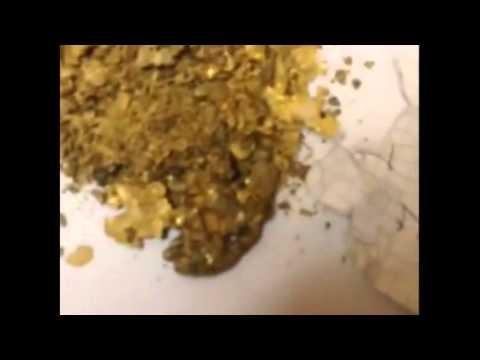Изъятие золота в аэропорту Магадана