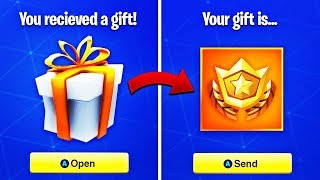 NEW GIFTING SYSTEM LEAKED in Fortnite! Gifting V-BUCKS and TRADING SKINS (Gifting Skins Feature)