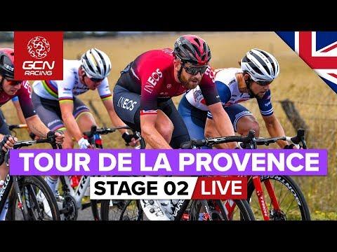 Tour de la Provence 2020 Stage 2 LIVE | Aubagne - La Ciotat
