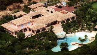 La Lorada villa de Johnny Hallyday à Ramatuelle
