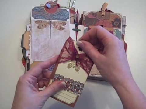 Follow Your Path Mini Scrapbook Album