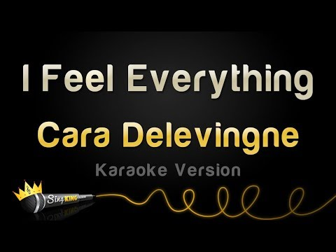 Cara Delevingne - I Feel Everything (Karaoke Version)