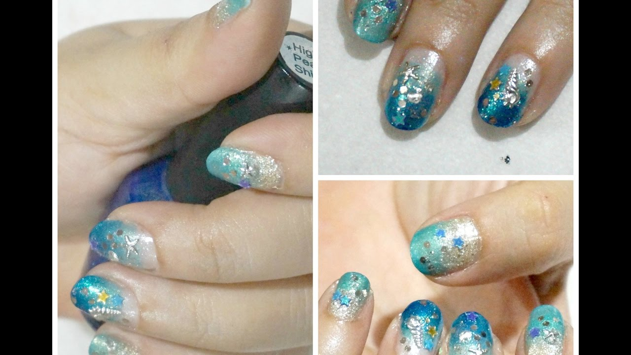 Beach Nail Art Diy - NailArts Ideas