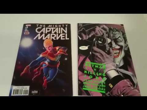Batman The Killing Joke gets Destroyed (Shredded) by Captain Marvel #9 Awww Cutest Kittens!!