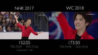 Kazuki Tomono FS -  West Side Story | NHK vs WC