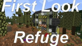 Refuge - HQM Mod Pack - FTB JamPacked 2 Entry! - First Look