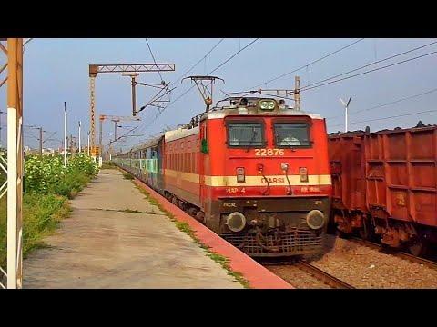 ET WAP-4 Hauling Bilaspur - Amritsar Chhattisgarh Express