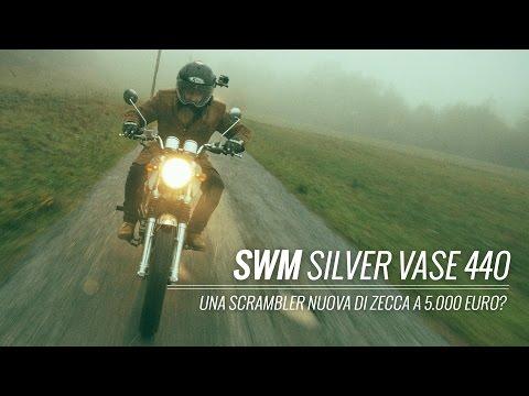 SWM Silver Vase 2016 - MOTOREETTO TEST #RIDEMORE