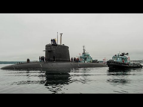 Multi-national NATO vessels set sail from Halifax Harbour