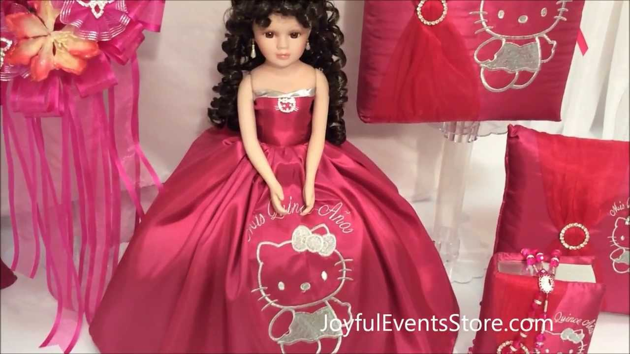 Hello Kitty Special Quinceanera Package - YouTube