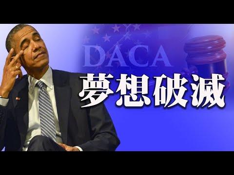 """美国联邦法官裁定奥巴马时代的""""童年抵美者暂缓遣返计划""""DACA是非法的。川普曾阻止该计画,这个裁定将会给拜登政府带来更多压力。【希望之声TV-每日头条-2021/7/17】"""