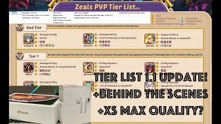 Idle Heroes E3 PVP Endgame Tier List! Update v1.1 + Behind the Scenes & FAQ