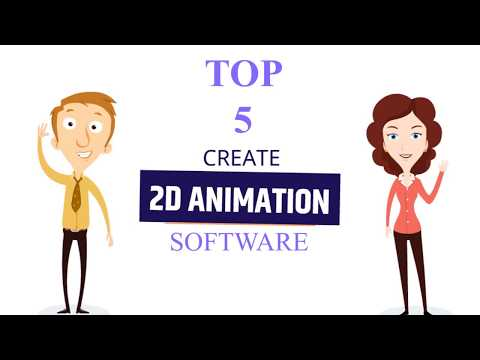 Top five 2d Animation Software