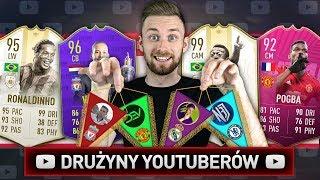 DRAFT DRUŻYN YOUTUBERÓW! | FIFA 19