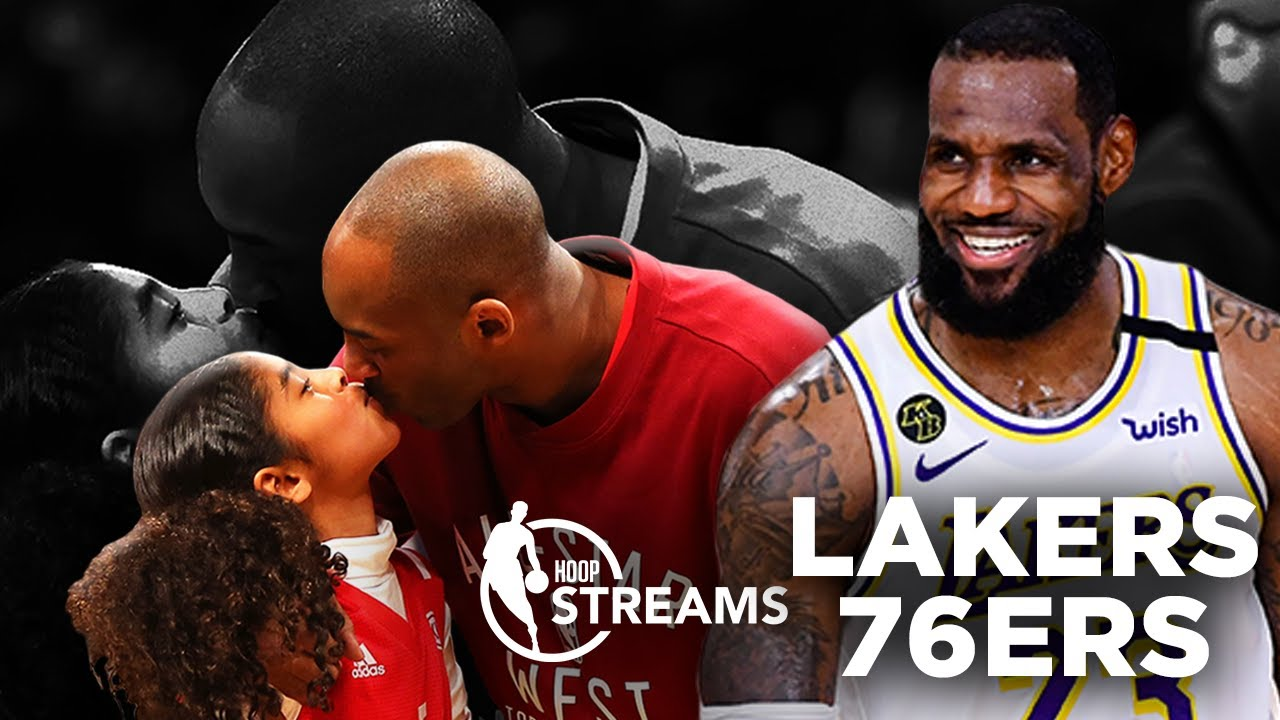 One year later: Celebrating Kobe Bryant's life and career | Hoop Streams | Lakers vs. 76ers