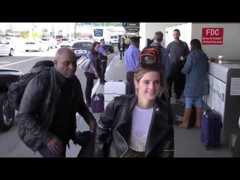 When Emma Watson Goes Out in Public
