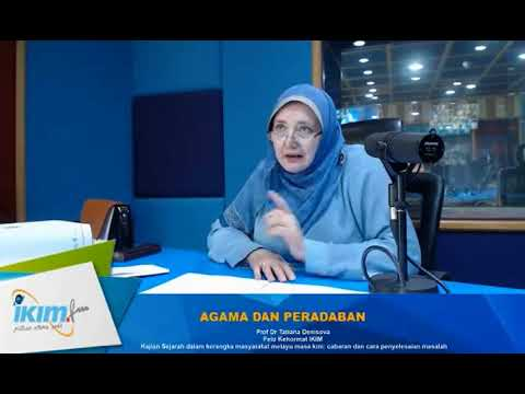 Kata2 Hang Tuah Takkan Melayu Hilang di Dunia Prof Dr Tatiana Denisova Pakar Sejarah Radio IKIM FM