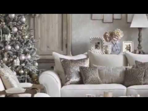 Como decorar una sala para navidad living room christmas - Como decorar una ensaladilla rusa ...