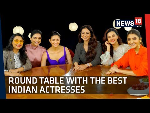 Tete-a-Tete With Rani, Deepika, Alia , Anushka, Tabu And Taapsee On One Table