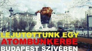 Lejutottunk egy atombunkerbe Budapest szívében ⎮ HÁTSÓ BEJÁRAT