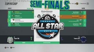 NHL 18 3ASHL Content Creator Tournament SEMI-FINALS! Team Deke vs Team TDI