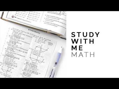 Study With Me: Math