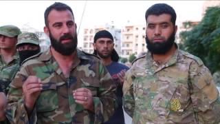 قناصة آلية للمعارضة السورية يتم التحكم فيها من بعد