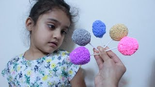 Finger Family Song of Lollipop for Learning colors with Rufi & Mummy