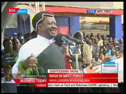 Raila Odinga mocks Jubilee government over importation of maize from Mexico