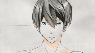How to draw Haruka Nanase (Free!)
